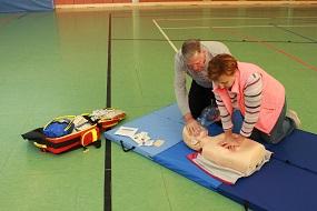 Notfalltraining für Eltern und Großeltern